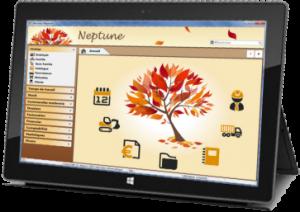Neptune sur tablette PC